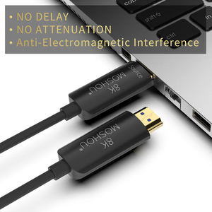 Image 5 - Optical Fiber Cables HDMI 2.1 48Gbps Ultra High Speed 8K 4K 120 60Hz UHD HDR High Definition Multimedia Interface MOSHOU ARC CEC
