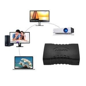 Image 5 - 2 ピース/ロット hdmi メス f/f カプラエクステンダアダプタコネクタ 1080 1080p ケーブル拡張コネクタ変換