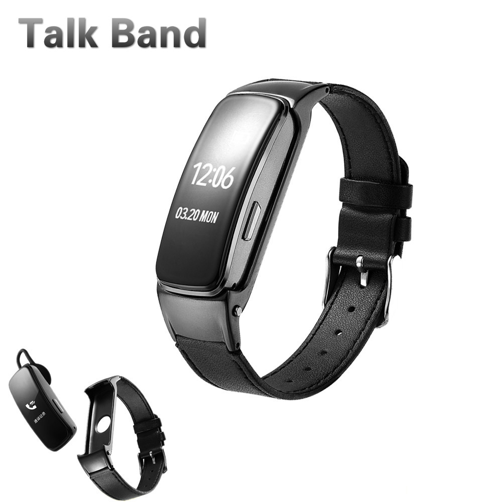 2018 Smart Talk Band Bluetooth Headphone Smart band Blood Pressure Talkband b3 Answer and Dail Call Smart Call Bracelet B3 Plus original huawei talkband b2 health smart bracelet band