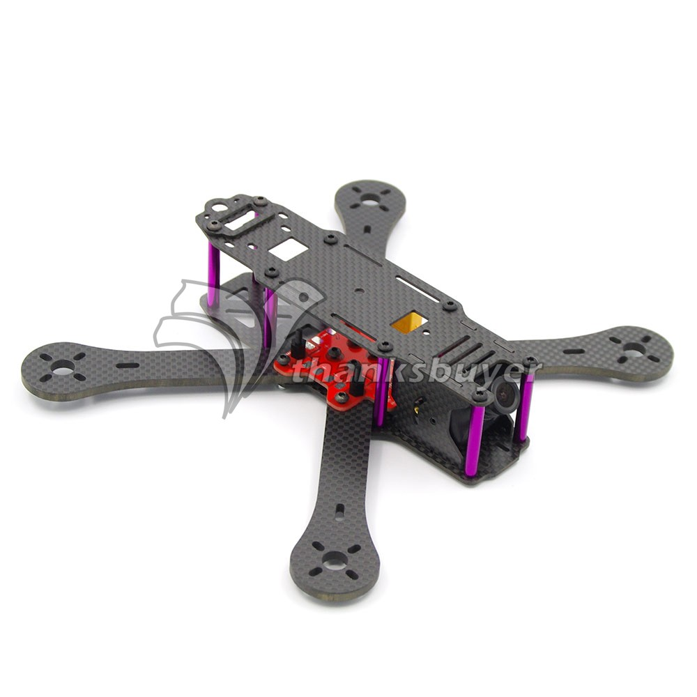 ФОТО Reptile-X4R 220mm 4-Axis Carbon Fiber Quadcopter Frame 4mm Arm w/Power Distribution Board for FPV