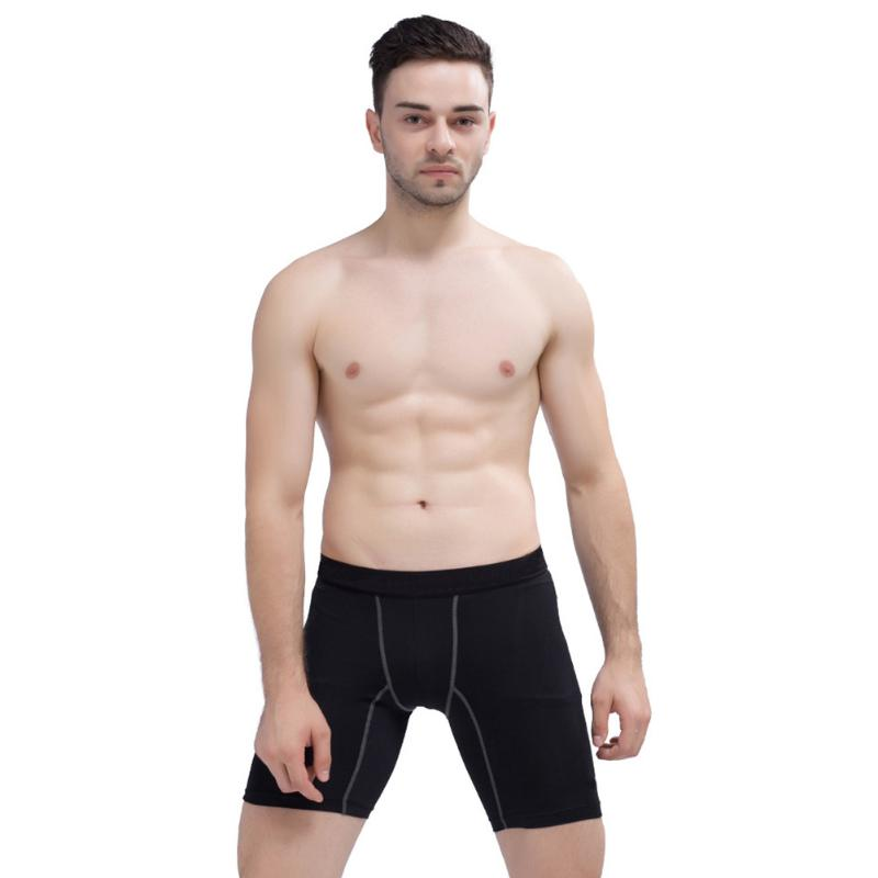 Men Quick-Dry Short Pants Fitness Sports Compression Microfiber Nylon Shorts Bodyboulding For Basketball Running Sports Fitness