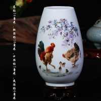 Vintage Ceramic Vase Home Decoration Ancient Beauty Porcelain Vase Flower Decoration Adornment Handicraft Furnishing Articles