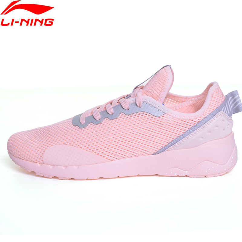 Li-Ning Women' s Sports Life Walking Shoes Breathable Leisure LiNing Sneakers Sport Shoes GLKM068 YXB071 цена