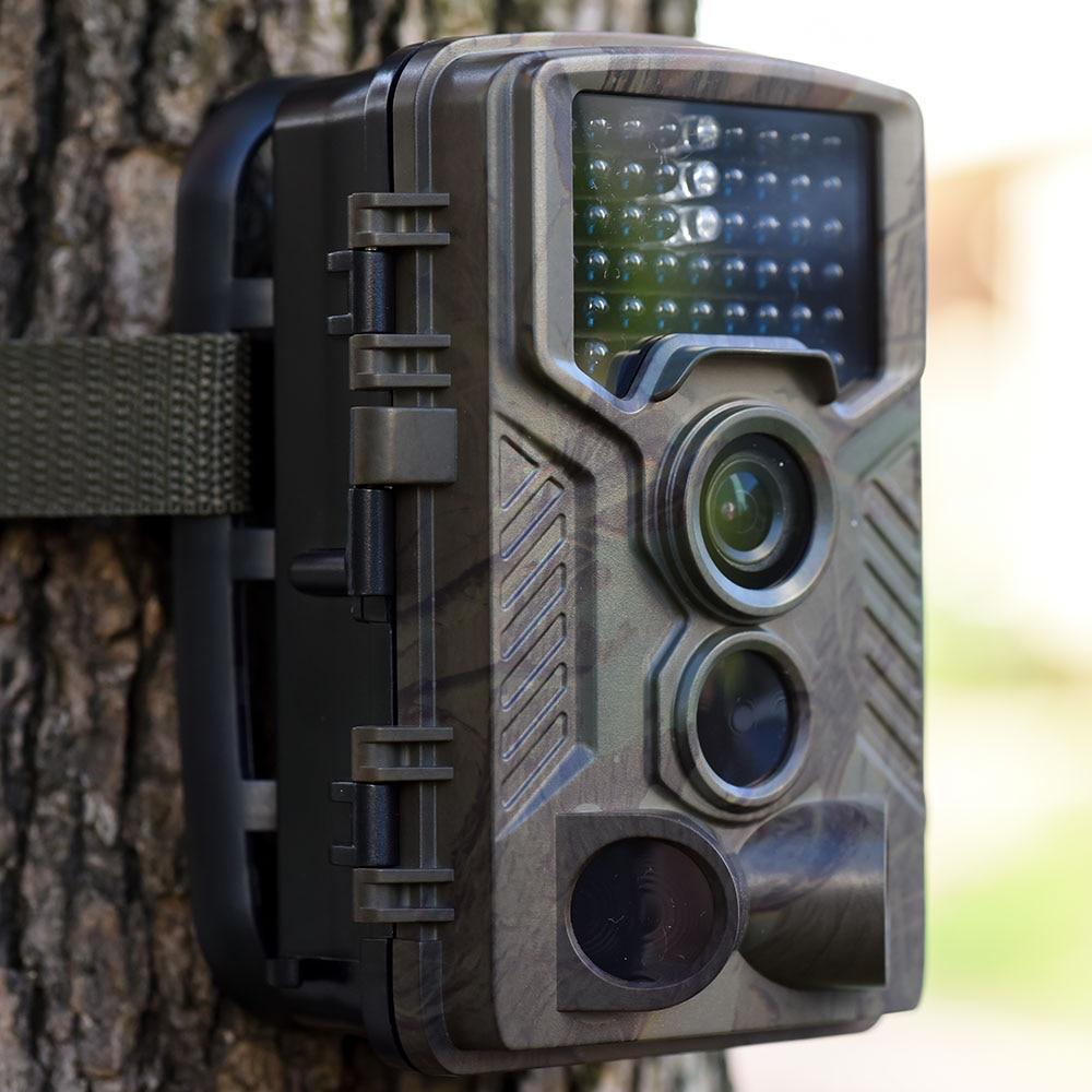 2X 1080P Hunting Camera Waterproof No glow LEDs 125°Degree Animal Trail Camera