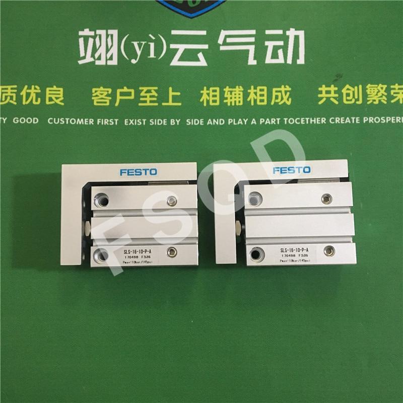 SLS-16-5-P-A SLS-16-10-P-A SLS-16-15-P-A SLS-16-20-P-A FESTO Slide cylinder Pneumatic components Pneumatic components