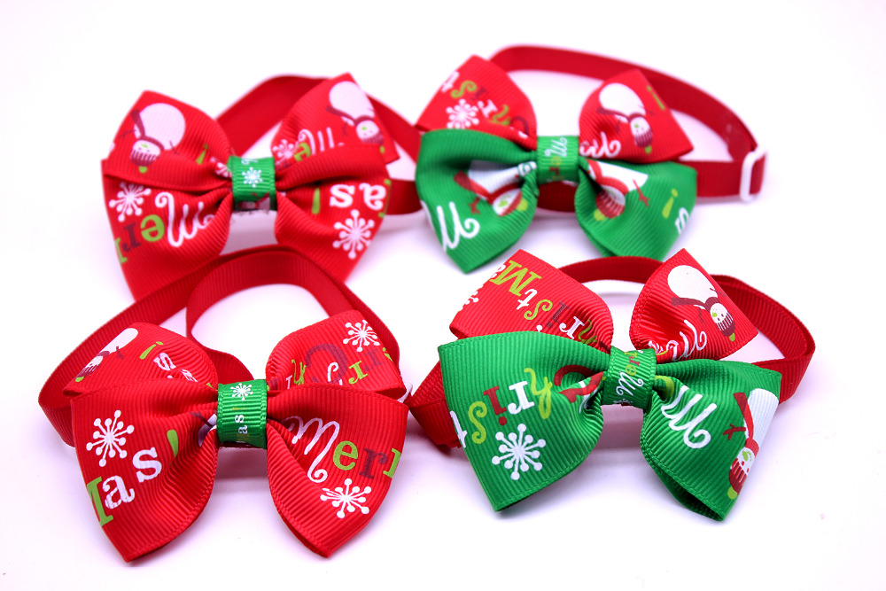 Aliexpress.com : Buy DHL Wholease 500pcs Cats Dog Christmas bow ...