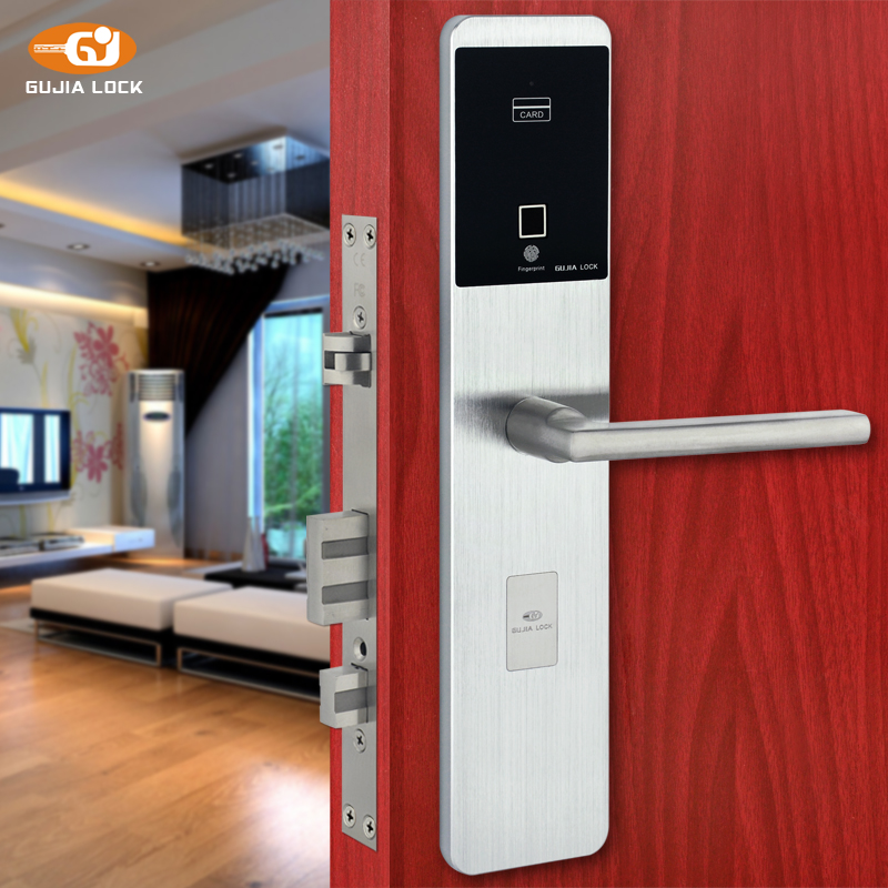 New Digital Safe Exterioir Door Code Password Sliding Biometric Fingerprint Door Lock
