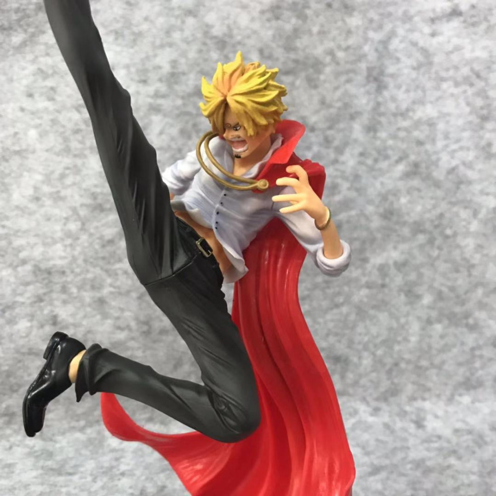 NEW hot 25cm One Piece Vinsmoke Sanji Action figure toys doll collection Christmas gift with box