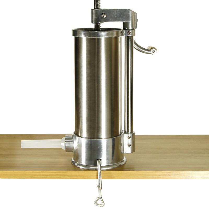 5.5 KG tafel gemonteerd worstvulap keuken vlees verwerking tool salami vulmachine commerciële handmatige worst maker-in Kleinigheden van Huis & Tuin op  Groep 3