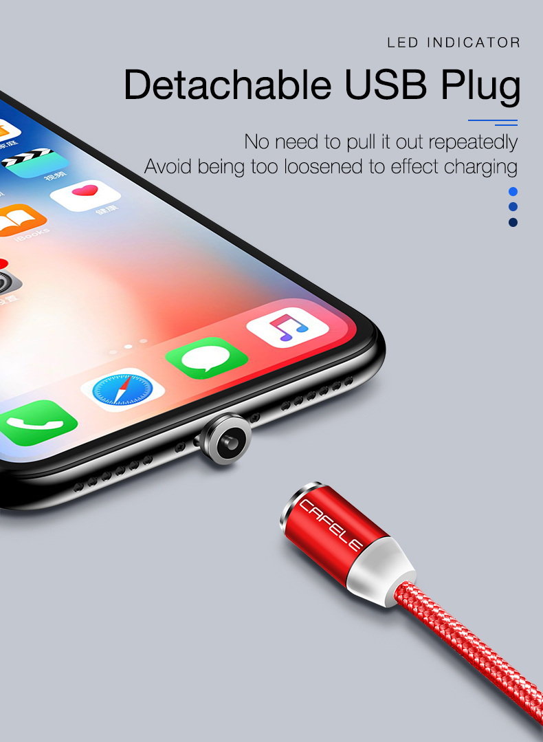Magnetic usb type c micro cable for iphone x xs max xr 8 7 6 6s plus 5 5s se (8)