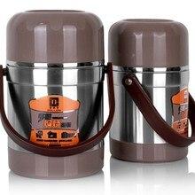 Ailijin вакуумный контейнер для обедов, сохраняющий тепло, контейнер для еды, изолированный горшок, термос, канистра, герметичная, 2,0 л, garrafa termica