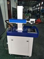 Портативный мини волоконно лазерная маркировочная машина для светодио дный лампочки