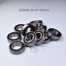 6005rs 25*47*12mm 6005 1 peça rolamento de metal rolamentos de vedação aço cromado rolamento sulco profundo 6005 6005rs