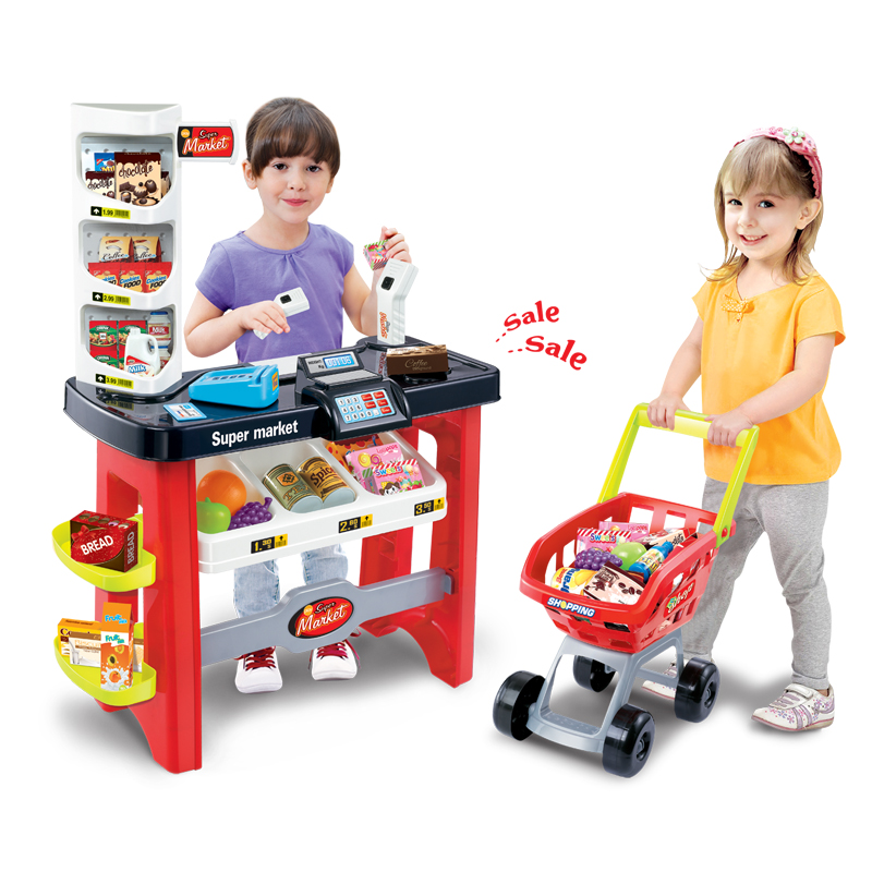 Toys For Boys Age 14 : Child toy age set supermarket shopping cart cash
