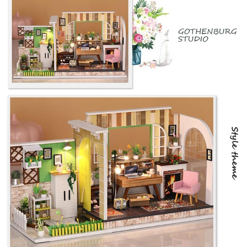 Gothenburg Studio DIY Miniature House