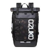 OZUKO Backpack Men S Designer Laptop Backpack High Quality Waterproof Large 15 6 Inch Notebook Anti