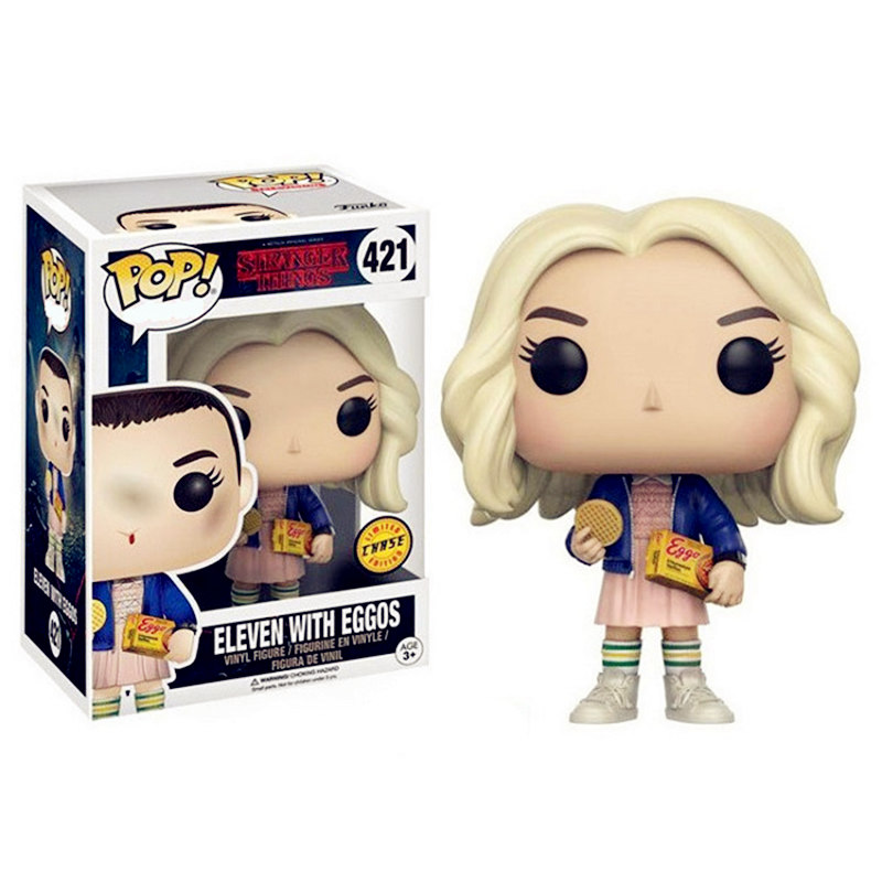 Funko Pop Stranger Things & Eleven Brinquedos Collection Pvc Action Figure Toys Birthday Gift