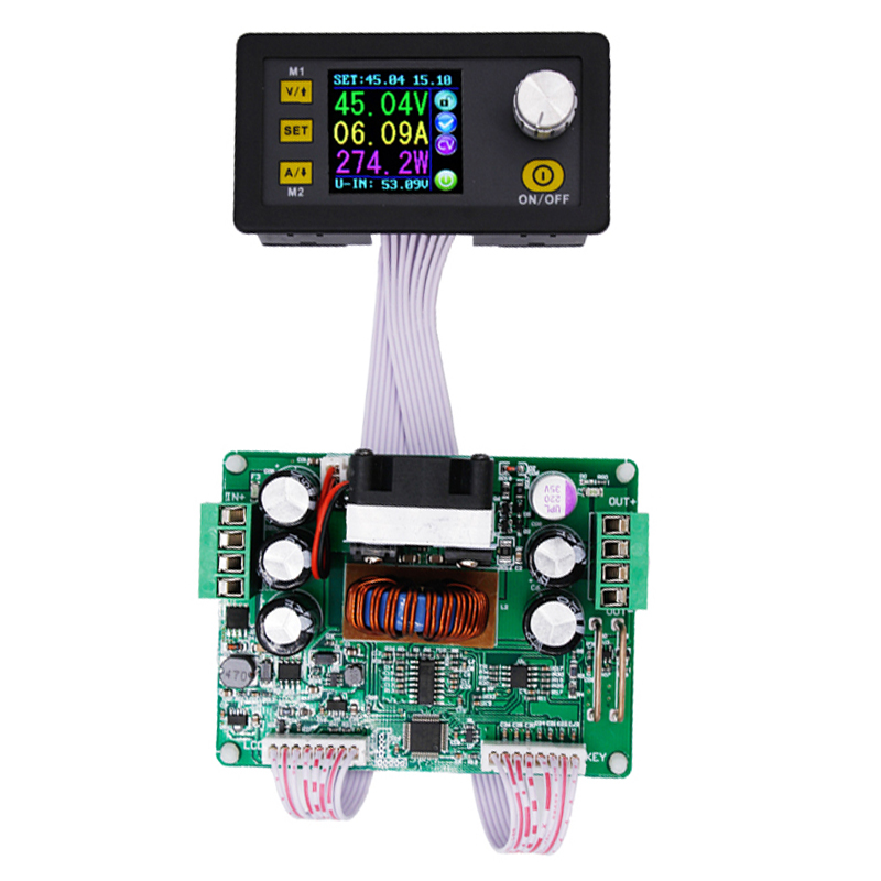 5pcs DPS3012 regulator converter color LCD Display Constant Voltage current tester Step-down Programmable Power Supply module sm t280 t285 case cover tab a a6 7 0 inch ultra slim lightweight stand smart cover case for samsung galaxy tab a 7 tablet