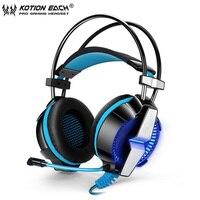KOTION EACH GS700 Deep Bass Gaming Headset Earphone Headband 3 5MM Stereo Headphone With Mic LED