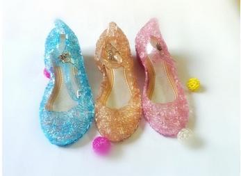 Piger sko hæle zapatos elsa børn piger mode sandal barn 2016 mærke toddler pige sandalas beach dance sommer sko 008