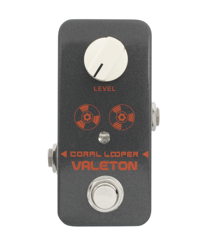 Valeton Coral Series Coral Looper Guitar Effects Pedal True Bypass Electric Bass mooer ensemble queen bass chorus effect pedal mini guitar effects true bypass with free connector and footswitch topper