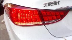 Image 5 - Elantra taillight,MD Avante,2012 ~ 2015, 자동차 액세서리, LED,Elantra rear light,Elantra 안개등, sonata,IX35 용 범퍼 램프