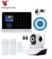 Yobang безопасности WI FI дома безопасности системы сигнализации движения Сенсор самообороны Беспроводной Наборы блоков для сигнализации
