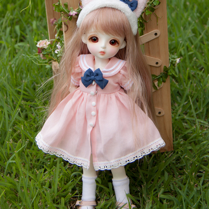 New Arrival Full set 1/6 BJD Doll BJD/SD Lina Baby Miu Joint Doll Lovely Resin Doll With Glass Eyes For Baby Girl Birthday Gift bjd sd infant fat giant baby doll bambi bambi square baby girl birthday gift