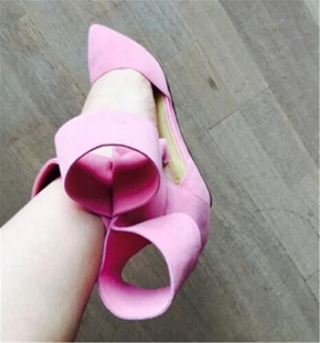 Gran Bowtie Corbata de tobillo Sandalias de gladiador Mujeres Rojo - Zapatos de mujer - foto 3