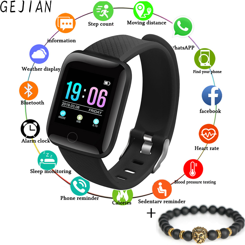 Men Smart Watch Waterproof Blood Pressure Measurement Fitness Tracker Women sport Watch Heart Rate Monitor Pedometer AndroidIOSMen Smart Watch Waterproof Blood Pressure Measurement Fitness Tracker Women sport Watch Heart Rate Monitor Pedometer AndroidIOS