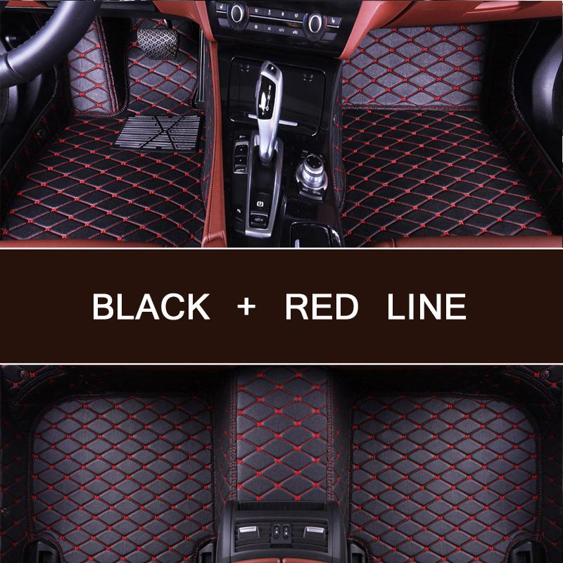Car floor mats for Mazda 2 3 Axela 6 8 5D CX5 CX 5 CX7 case car styling carpet heavy duty anti slip easy clean rugs liners