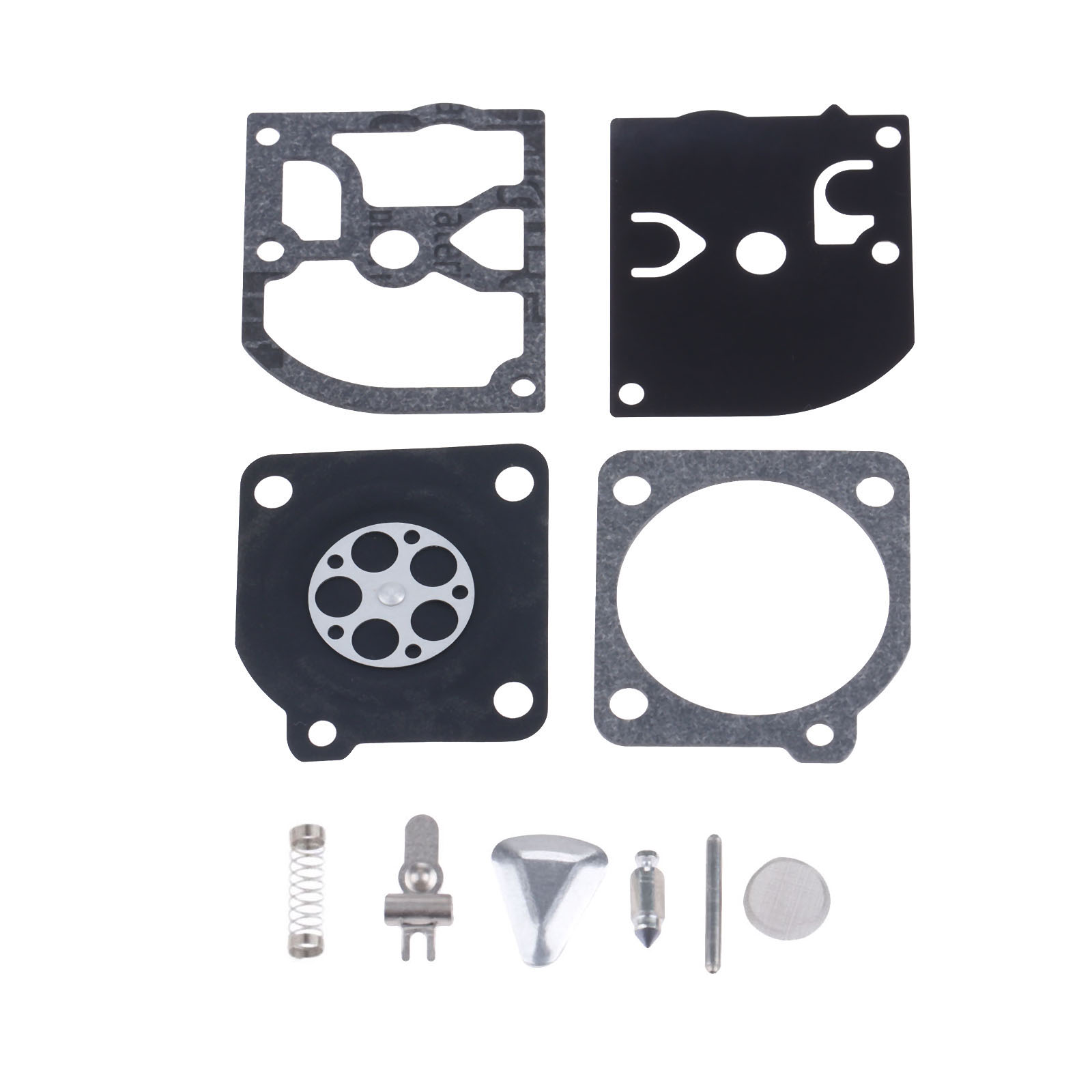 DRELD RB-45 Carburetor Carb Repair Rebuild Overhaul Kit For HUSQVARNAA 40 45 50 51 55 Chainsaw ZAMA RB-45 / RB45