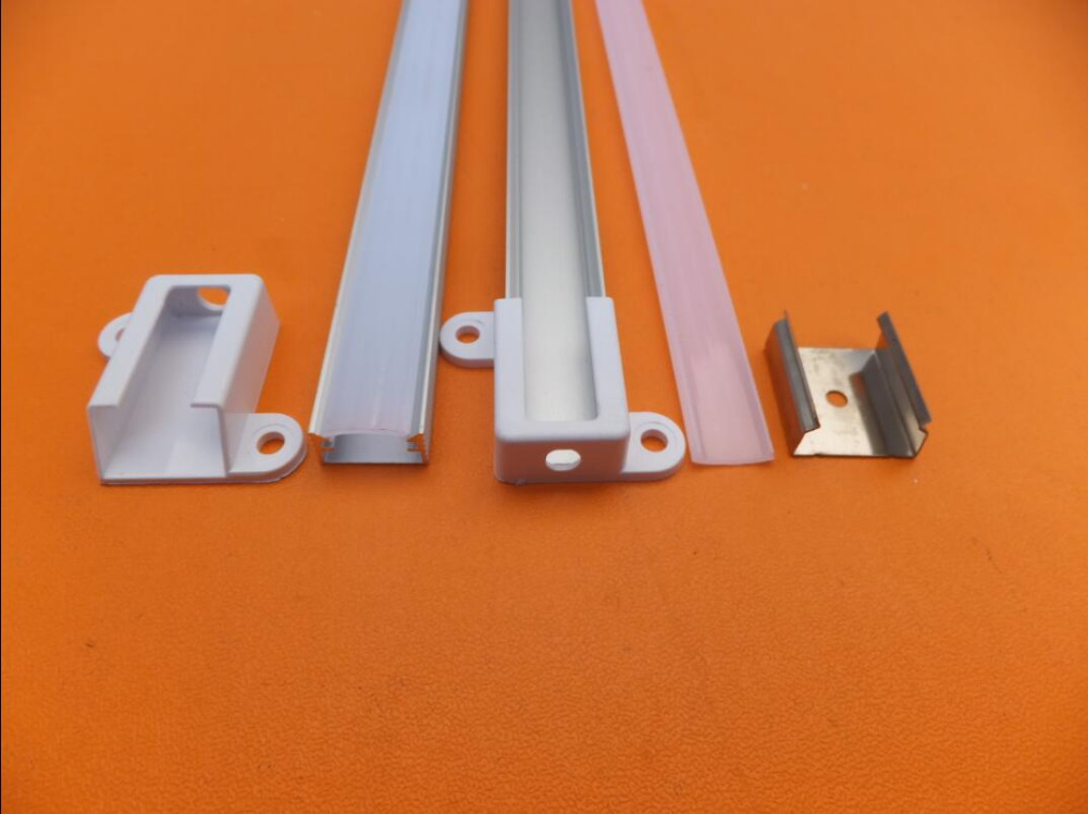 Free Shipping 2m/pcs 25pcs/lot LED aluminum profile slim channel set for strip Bar Light jewelry counter with best price