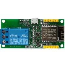 واي فاي وحدة التتابع esp8266 برمجة شبكة لاسلكية للتحكم عن بعد مجلس التنمية IOT التبديل 5 فولت