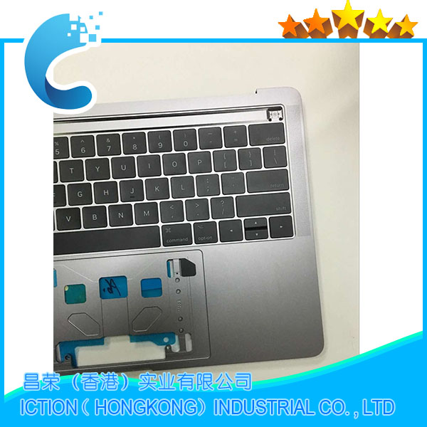 A1706 Topcase with US Keyboard Original New for MacBook A1706 Topcase with US keyboard 2016 2017 Years Gray Color A1706 Topcase with US Keyboard Original New for MacBook A1706 Topcase with US keyboard 2016 2017 Years Gray Color