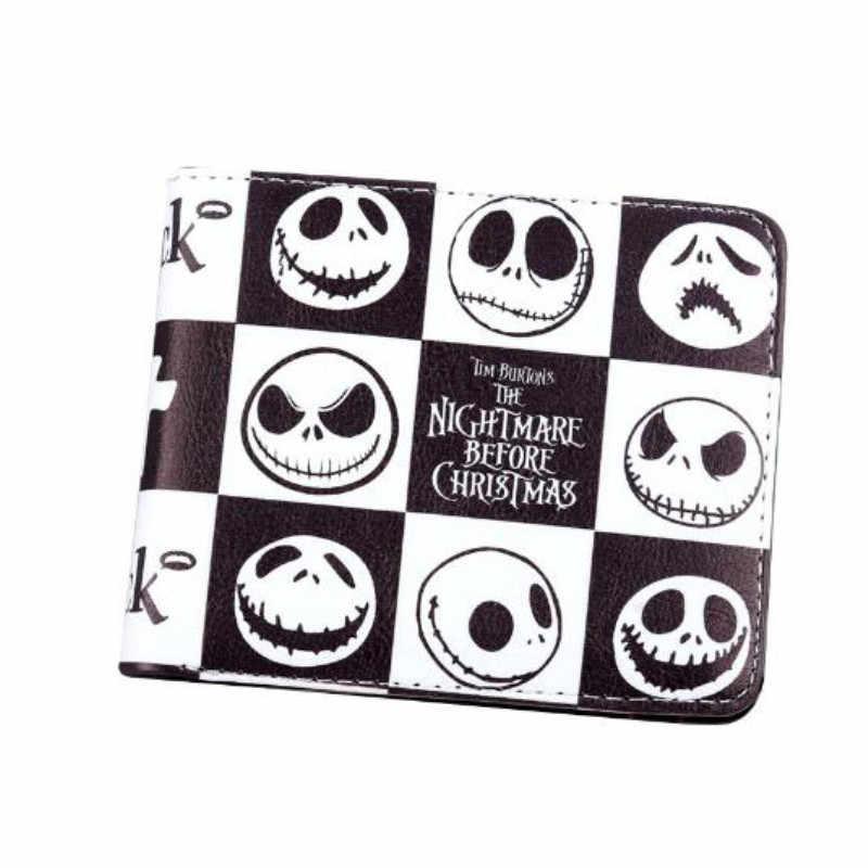 MaDonNo Аниме Кошмар перед Рождественский кошелек Джек Скеллингтон короткий кошелек сумка
