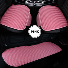 KKYSYELVA 6 Colors Auto Car Seat Cover universal Front Rear seat cushion Covers Interior Accessories