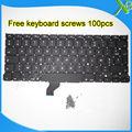 """Marca Nueva AZERTY teclado FR Francés teclado + 100 unids tornillos Para MacBook Pro Retina 13.3 """"A1502 2013-2015 Años"""