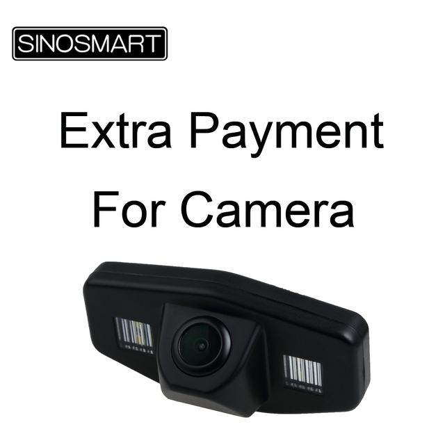 Extra Payment for High Quality Wired Rear View Camera to DVD player, NO Seperate Single Selling