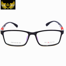 2016 New Design Vintage TR90 Men Eye Glasses Quality Fashion Sports Style Square Retro Optical Frame Eyewear For Men Oculos