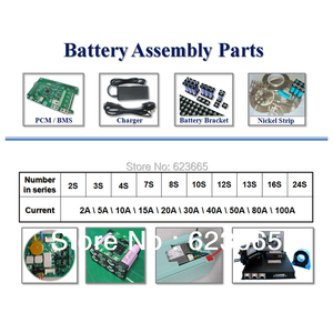 Image 4 - 12S 36V 15A lifepo4 pil BMS elektrikli bisiklet için kullanılan 36V 8Ah 10Ah 12Ah 15Ah LiFePO4 pil paketi ile denge fonksiyonu ile