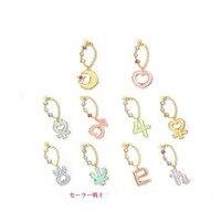 11 stks Anime Sailor Moon 20th Anniversary sleutelhanger telefoon tas hanger hang chain