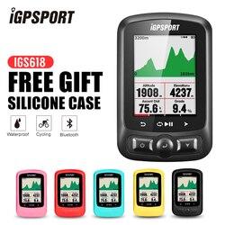 IGPSPORT ANT + GPS komputer IGS618 rower Bluetooth bezprzewodowy stoper wodoodporny rower rowerowy czujnik prędkościomierz komputer