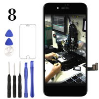 Premium For iPhone 8 LCD Display With3D Touch Tianma OEM High Quality Panel For iPhone 8G LCD Screen Assembly With Camera Holder