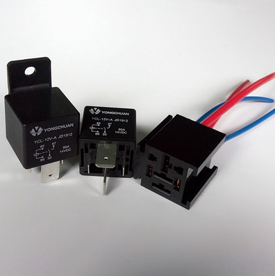 5 sets JD1912 80A Wide leg High Current Relay Automotive ... High Current Relay Wiring on