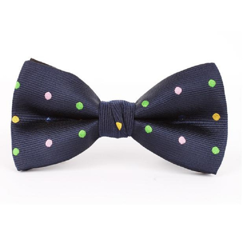 2018 dot mens bow tie Polyester Bowtie Wedding Butterfly