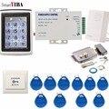 SmartYIBA Водонепроницаемая цифровая клавиатура с подсветкой, контроль доступа к двери, пароль и шлюз радиочастотной идентификации, открывалка...