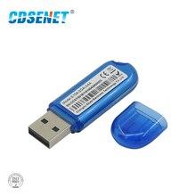 CC2540 Module Bluetooth émetteur récepteur dinterface USB BLE4.0 E104 2G4U04A 2.4GHz SoC 4dBm avec antenne PCB