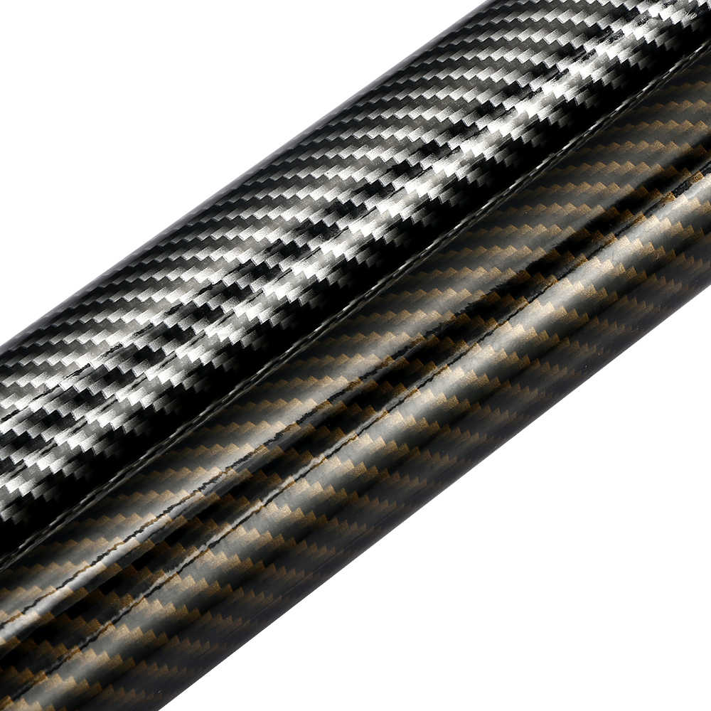 10cm100cm 2d high glossy carbon fiber vinyl wrap film automobiles car motorcycle diy decorative
