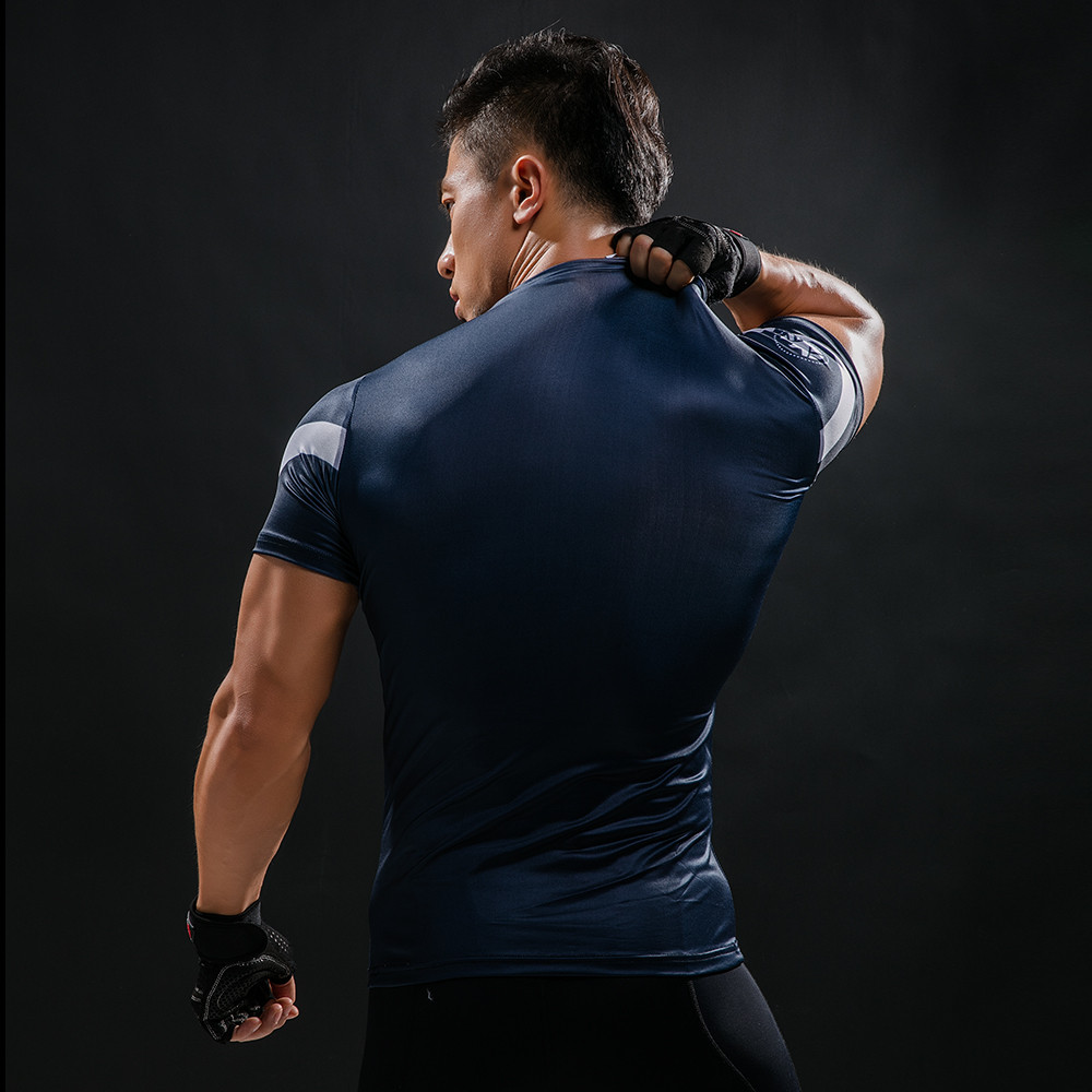Punisher 3D Printed T-shirts Men Compression Shirts Long Sleeve Cosplay Costume crossfit fitness Clothing Tops Male Black Friday 66